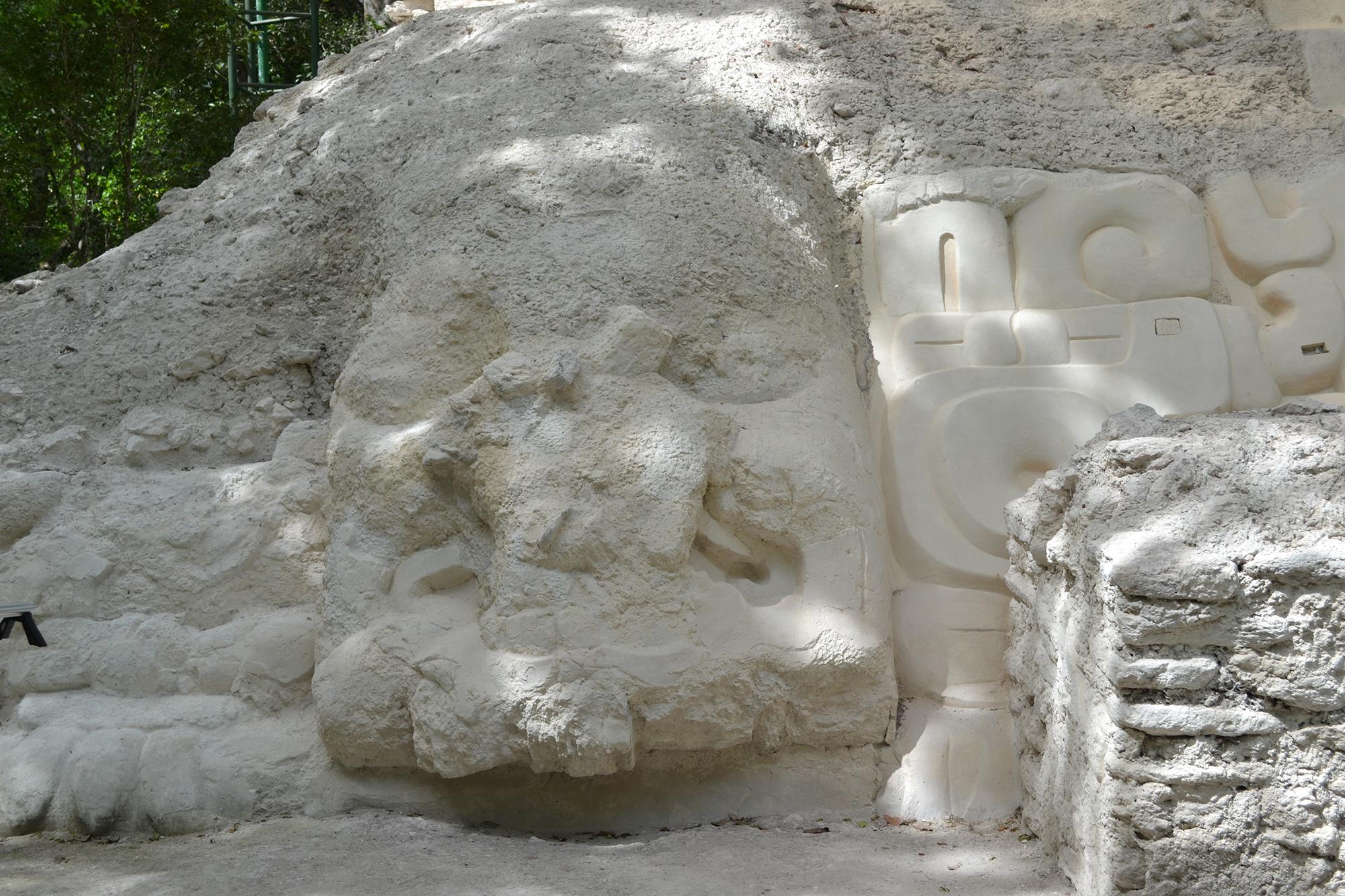 Templo con Máscara, El Mirador