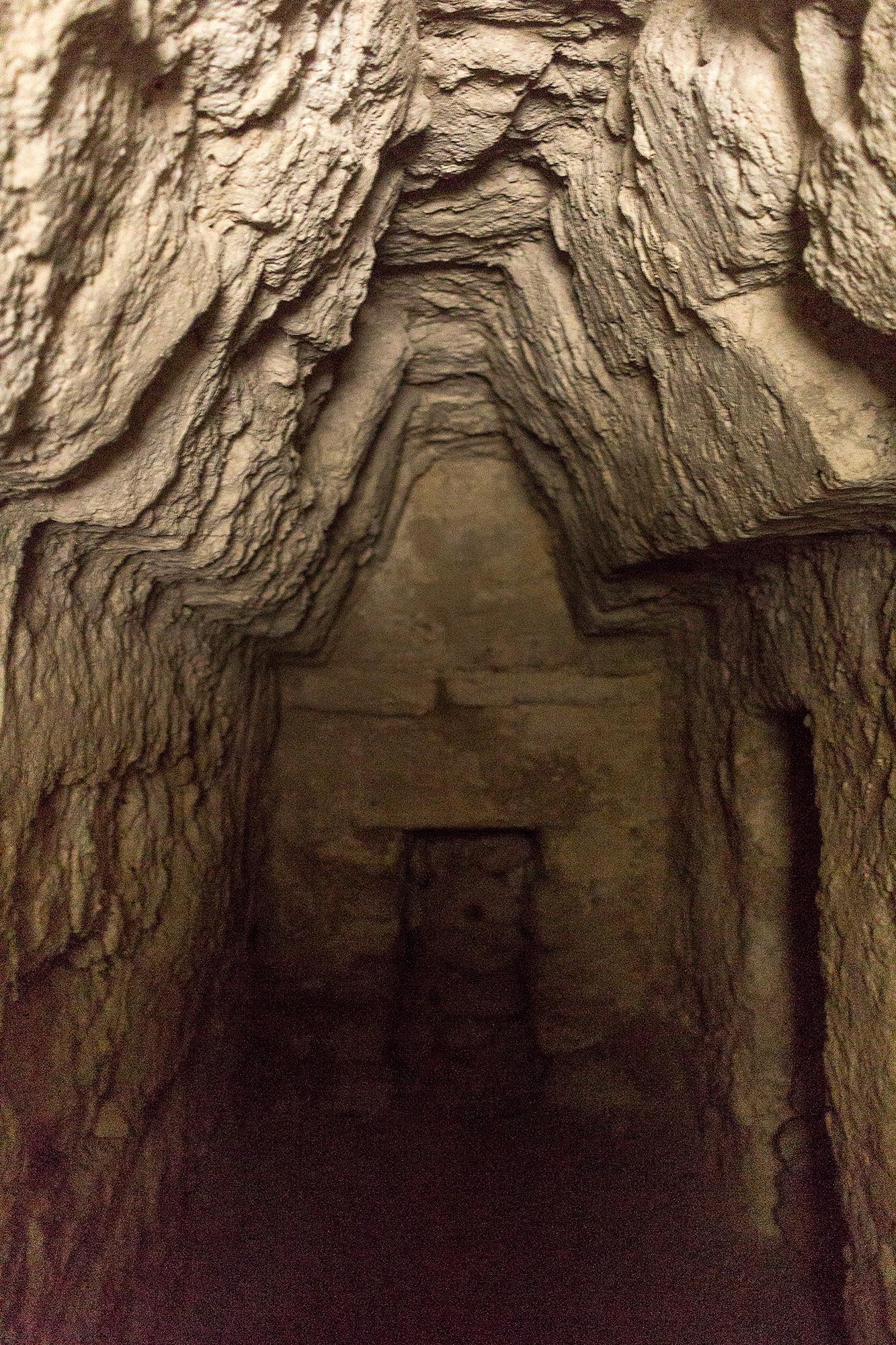 Interior ruinas La Muerta